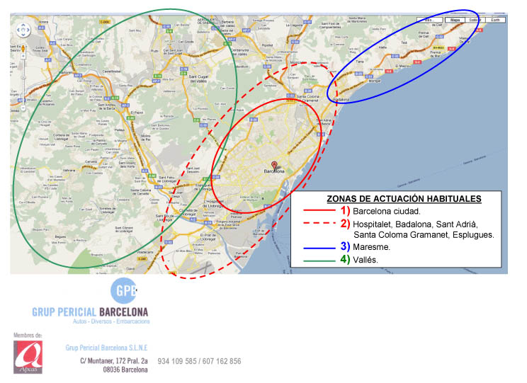 Actuaciones Habituales Grup Pericial Barcelona Sl